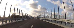 Rozkradają most Północny