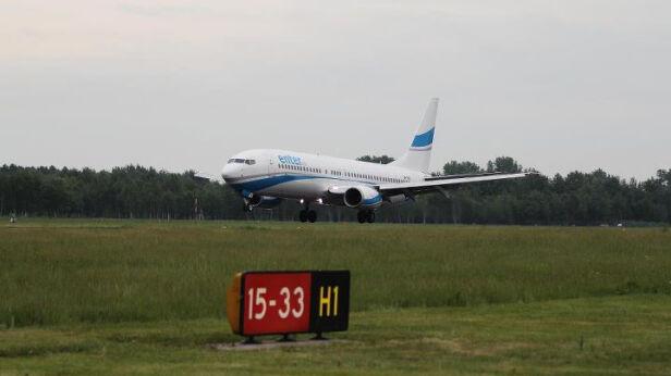 Jeszcze rano ruch na Lotnisku Chopina odbywał się bez problemów - fot. Lotnisko Chopina/Facebook