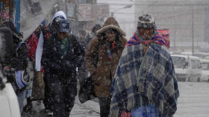 Sroga zima w Boliwii. 35 ofiar mrozu