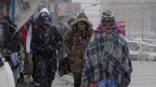Sroga zima w Boliwii. 35 ofiar