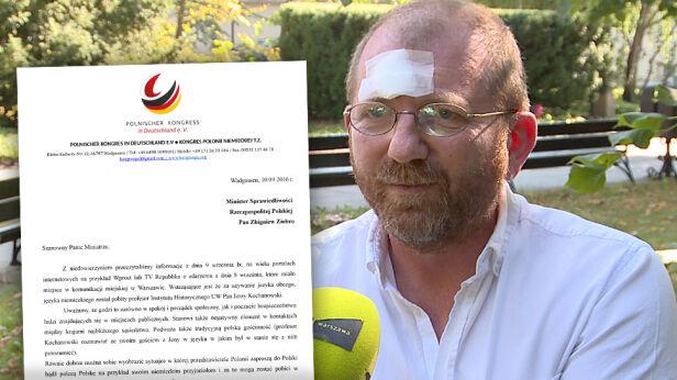 Profesor Kochanowski i pismo Polonii