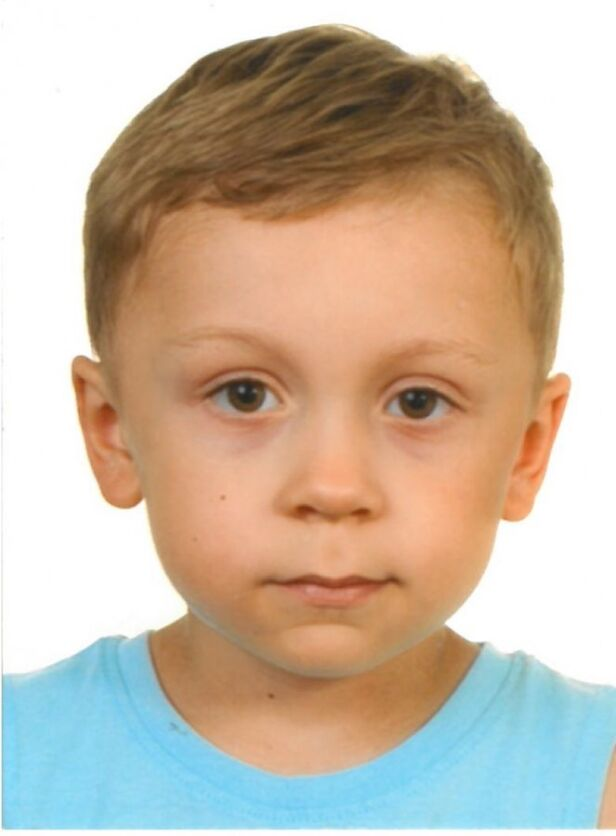 Poszukiwany 5-letni Dawid Żukowski  ksp