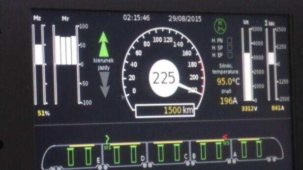 Pociąg Kolei Mazowieckich pobił rekord prędkości Koleje Mazowieckie