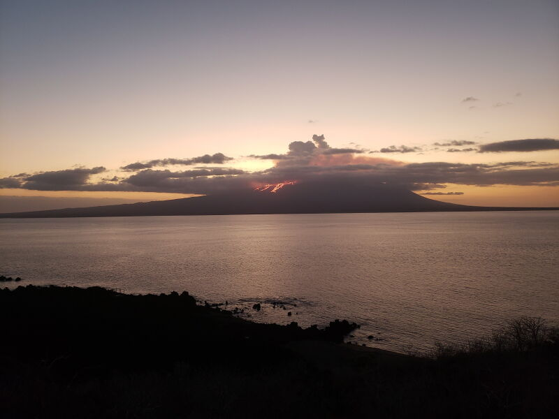 Erupcja wulkanu La Cumbre (Galapagos National Park/PAP/EPA)