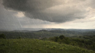 Prognoza pogody na jutro: deszcz, burze, lokalnie grad