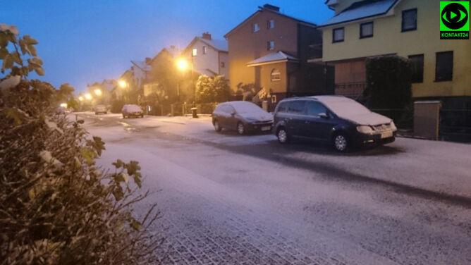 Zima zaległa nad Bałtykiem