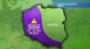 Warunki drogowe w środę 12.05
