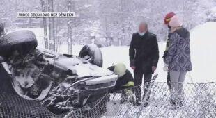 Opady śniegu w Rumunii spowodowały poważne utrudnienia, są też zadowoleni